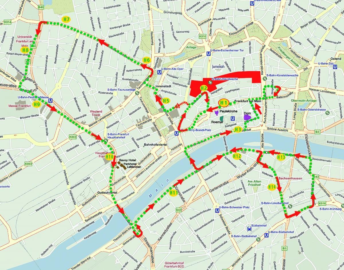 Carte Espagne Hd.Madrid Hop On Hop Off Bus De La Carte De L Itineraire